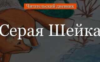 Анализ сказки Серая Шейка Мамина-Сибиряка