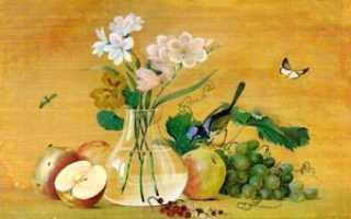 Сочинение по картине Толстого Цветы, фрукты, птица 5 класс описание