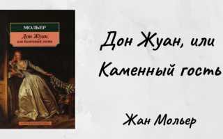 Дон Жуан – краткое содержание романа Мольера (сюжет произведения)