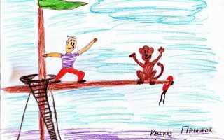 План рассказа Прыжок Толстого 3 класс
