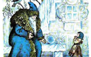 Мороз Иванович – краткое содержание сказки Одоевского (сюжет произведения)