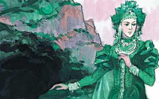 Медной горы Хозяйка – краткое содержание сказки Бажова (сюжет произведения)