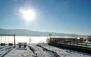 Сочинение Вид из моего окна зимой 6, 5 класс