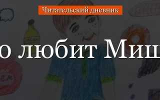 Что любит Мишка – краткое содержание рассказа Драгунского (сюжет произведения)
